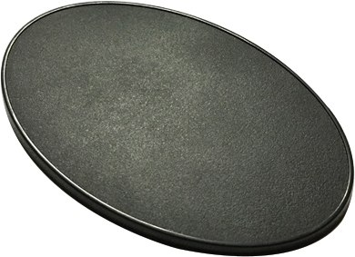 Reaper Base Boss: 105mm X 70mm Oval Gaming Base (4) Box Front