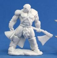 Dark Heaven: Bones Goldar Male Barbarian Box Front