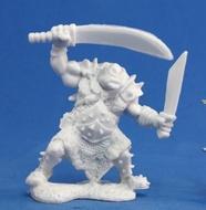 Dark Heaven: Bones Orc Stalker (two Weapons) Box Front