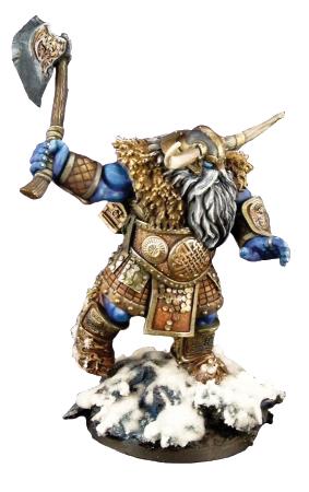 Dark Heaven: Bones Frost Giant Warrior Box Front
