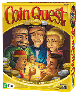 Coin Quest Box Front