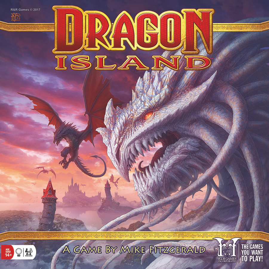 Dragon Island Box Front