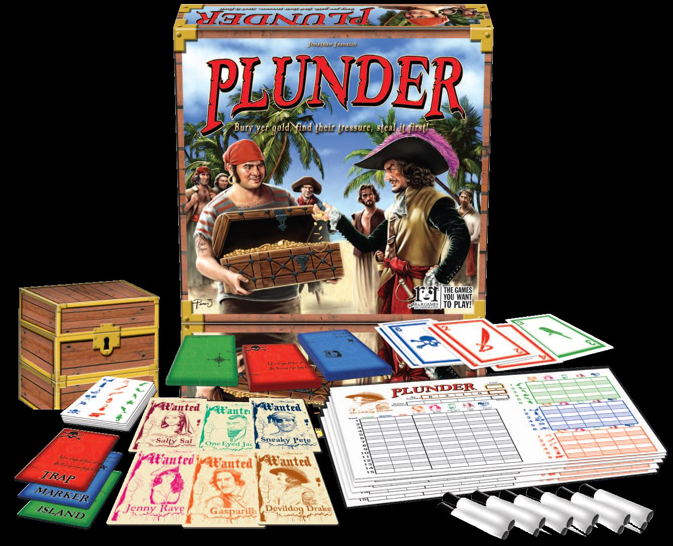 Plunder Box Front