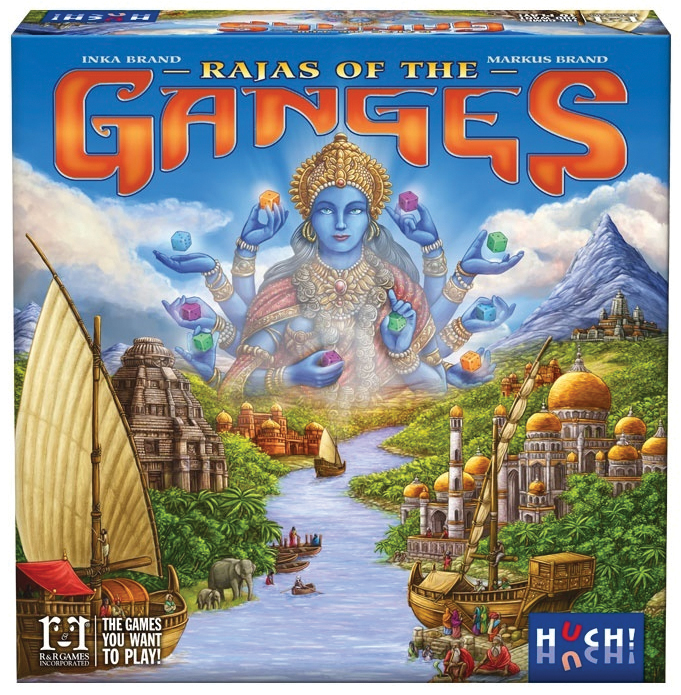 Rajas Of The Ganges Box Front