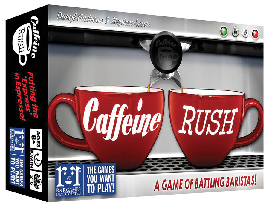 Caffeine Rush Box Front