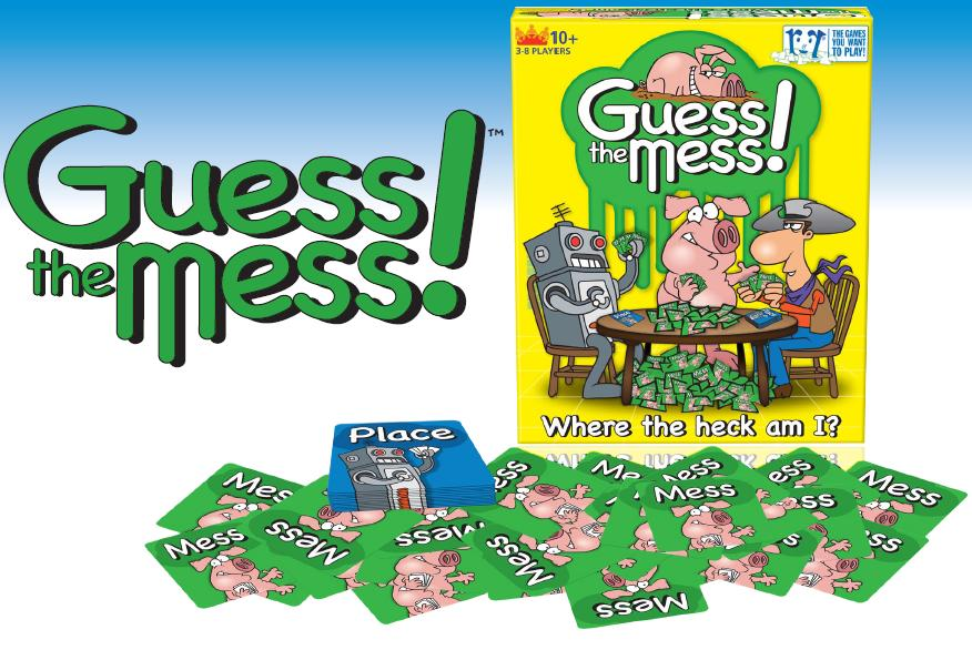Guess The Mess! Box Front