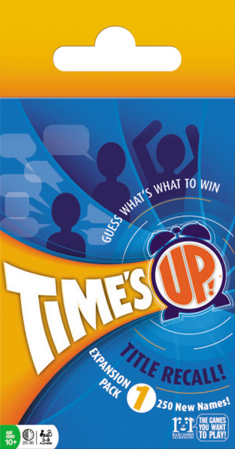 Times Up!: Title Recall Expansion Pack 1 Box Front