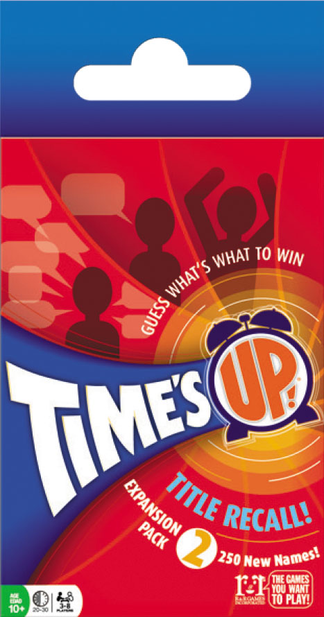 Times Up!: Title Recall Expansion Pack 2 Box Front