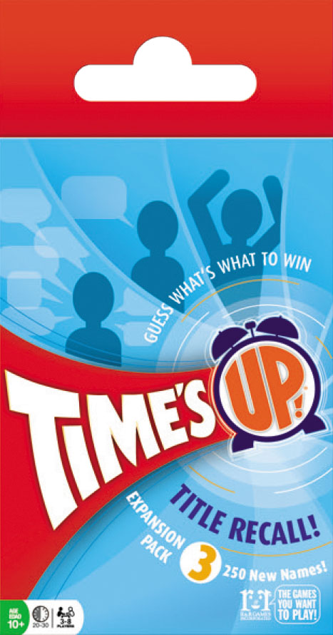 Times Up!: Title Recall Expansion Pack 3 Box Front