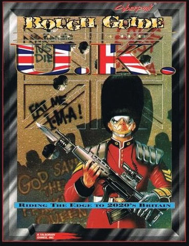 Cyberpunk 2020: Rough Guide To The Uk Game Box