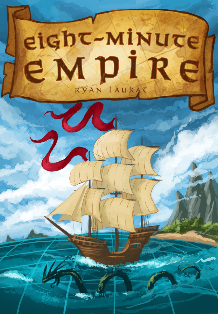 Eight Minute Empire Box Front