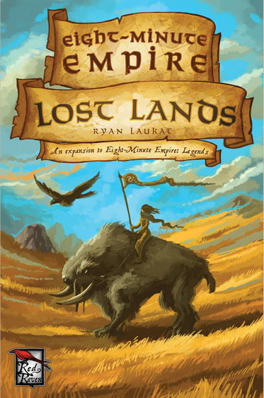 Eight Minute Empire: Lost Lands Expansion Box Front