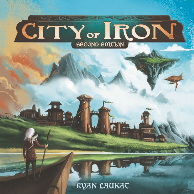 City Of Iron 2nd Edition Box Front