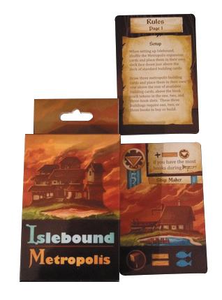 Islebound: Metropolis Expansion Box Front