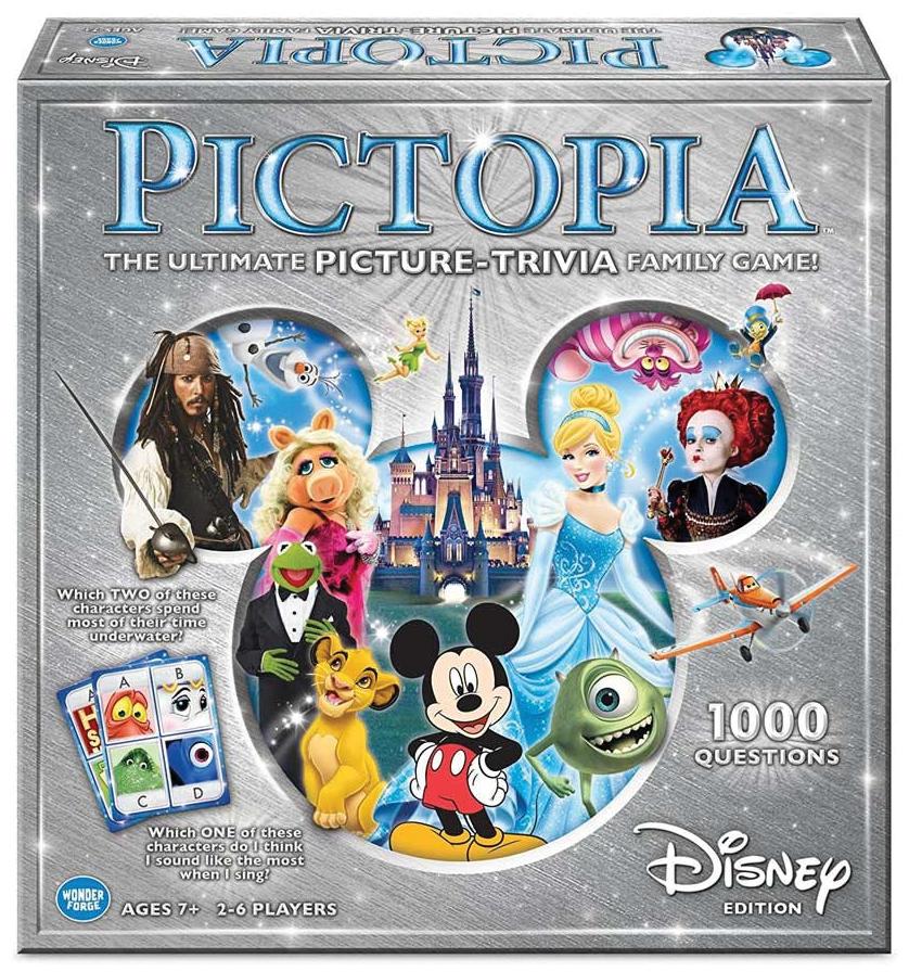 Pictopia: Disney Edition Box Front