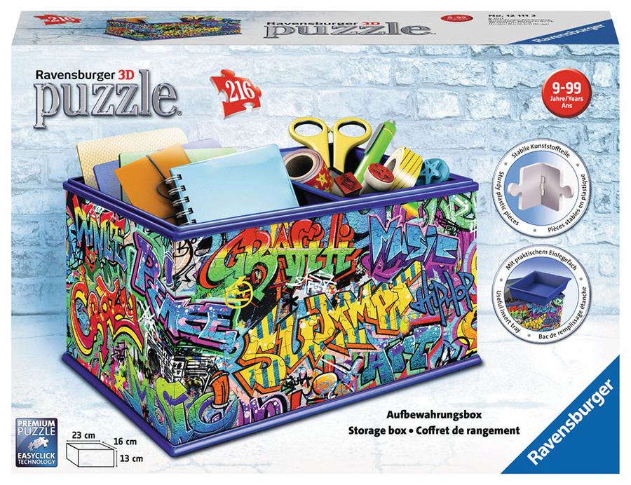 Strorage Box - Grafitti (216 Pc Puzzle) Box Front