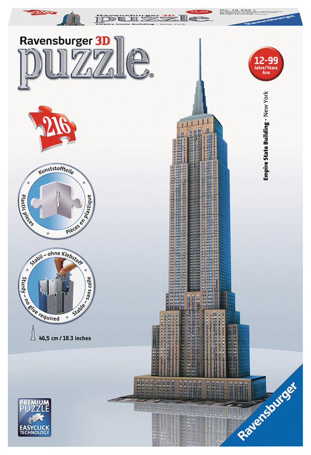Empire State Building (216 Pc Puzzle)  Box Front