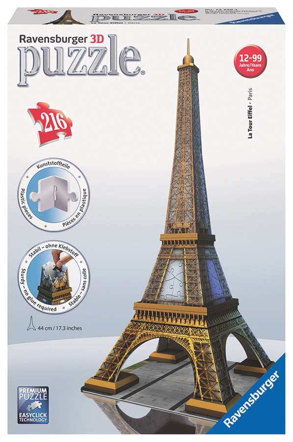Eiffel Tower (216 Pc Puzzle)  Box Front