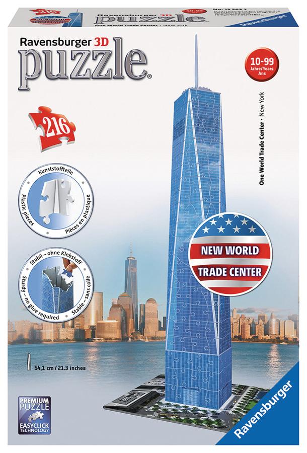 One World Trade Center Ny (216 Pc Puzzle)  Box Front