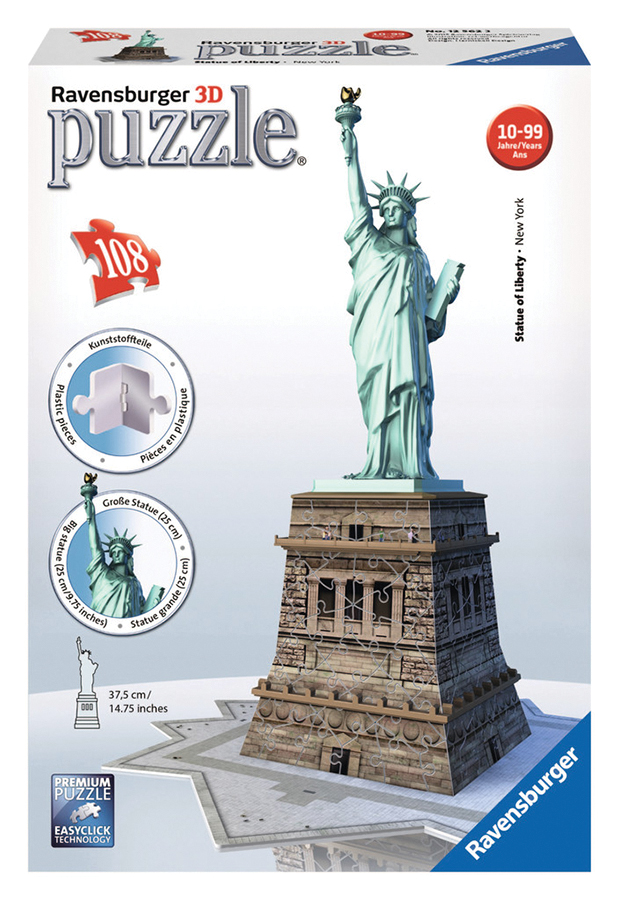 Statue Of Liberty (108 Pc Puzzle) Box Front