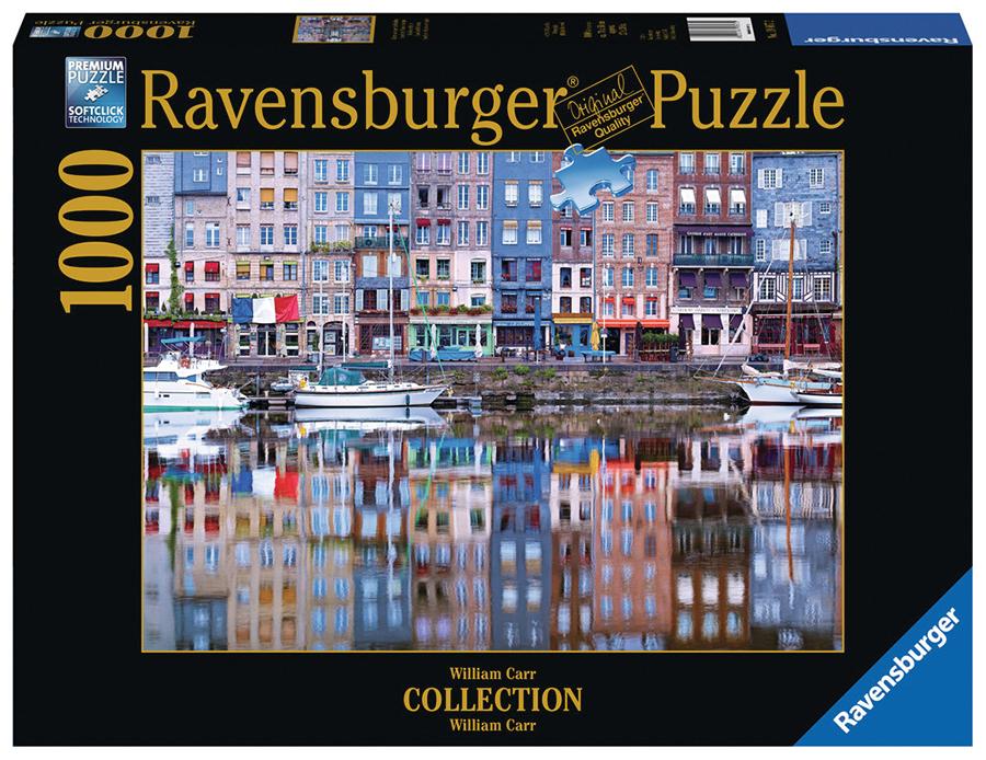 Honefleur Reflection Puzzle Box Front