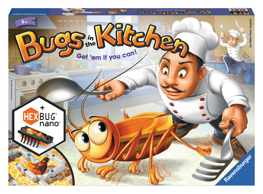 Bugs In The Kitchen Box Front