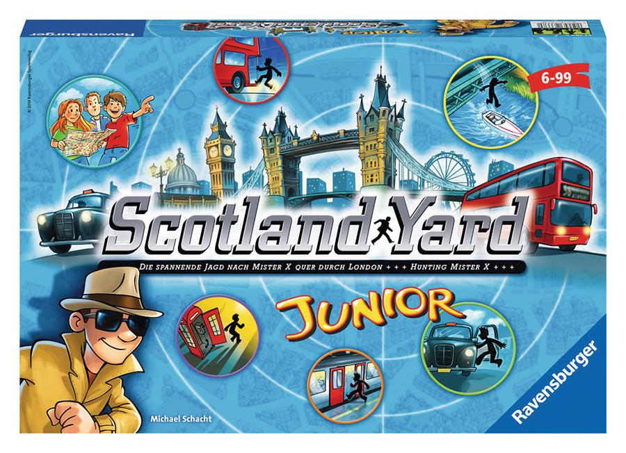 Scotland Yard Junior Box Front