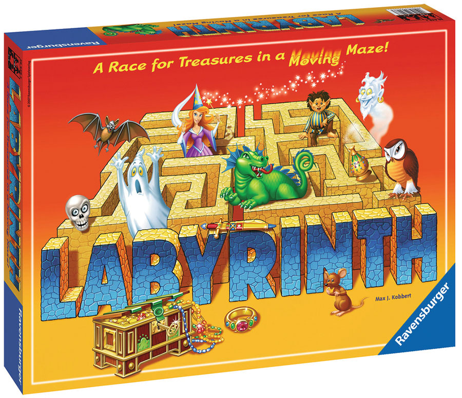 Labyrinth Box Front