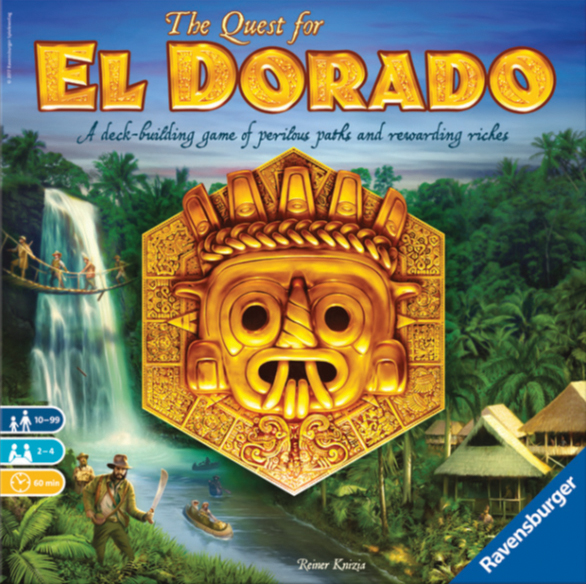 The Quest For El Dorado Box Front