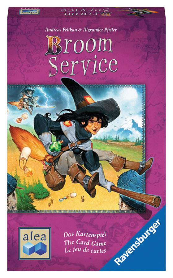 Broom Service - The Card Game Box Front