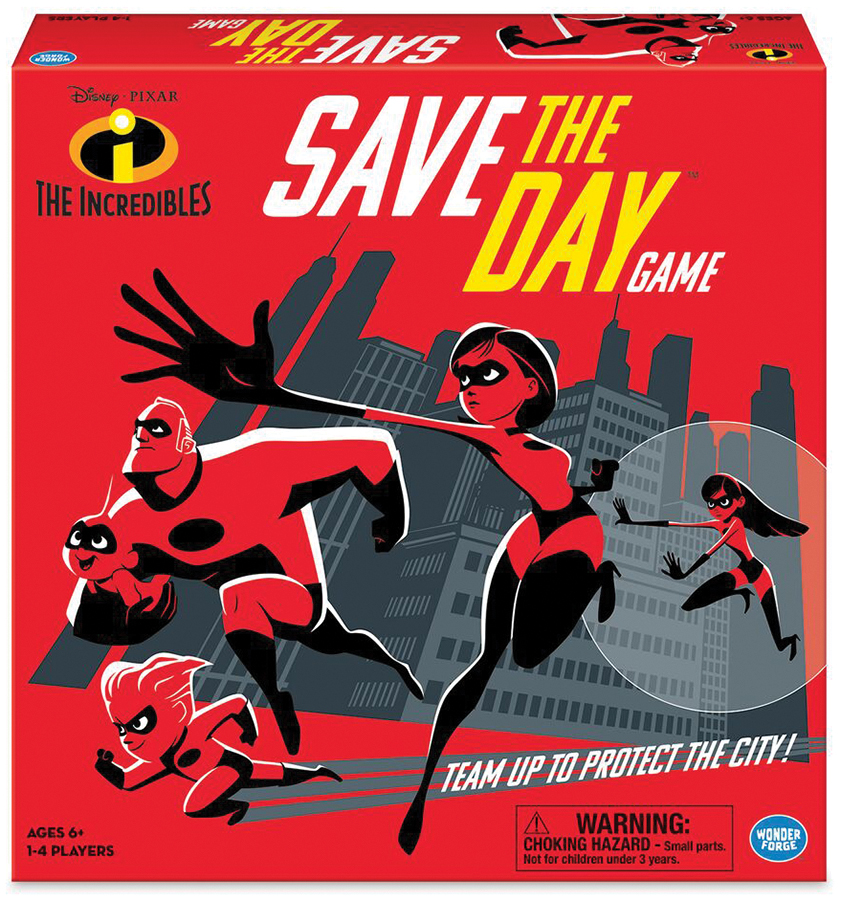 Incredibles Save The Day  Box Front