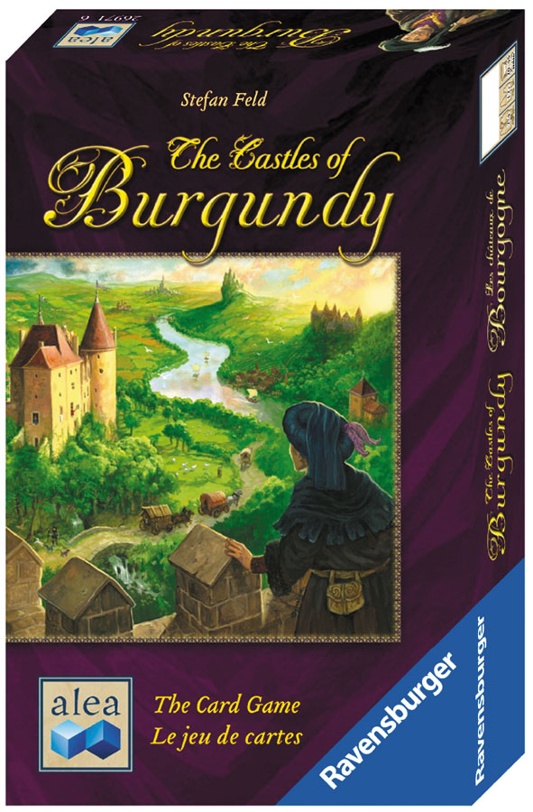 The Castles Of Burgundy - The Card Game Box Front