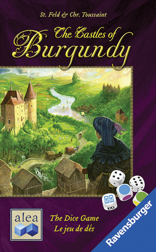 The Castles Of Burgundy - The Dice Game Box Front