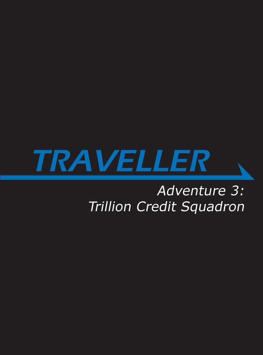 Traveller Rpg: Adventure 3 - Trillion Credit Squadron Box Front