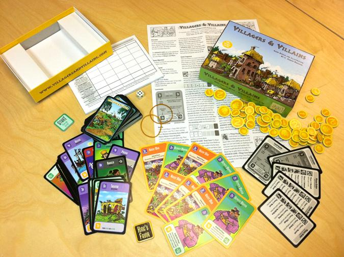 Villagers And Villains: Core Game Box Front