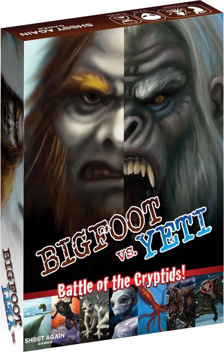 Bigfoot Vs. Yeti Game Box