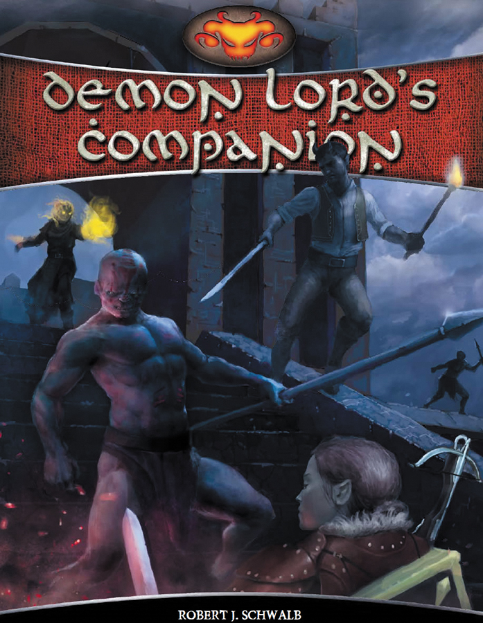Shadow Of The Demon Lord Rpg: Demon Lords Companion Box Front