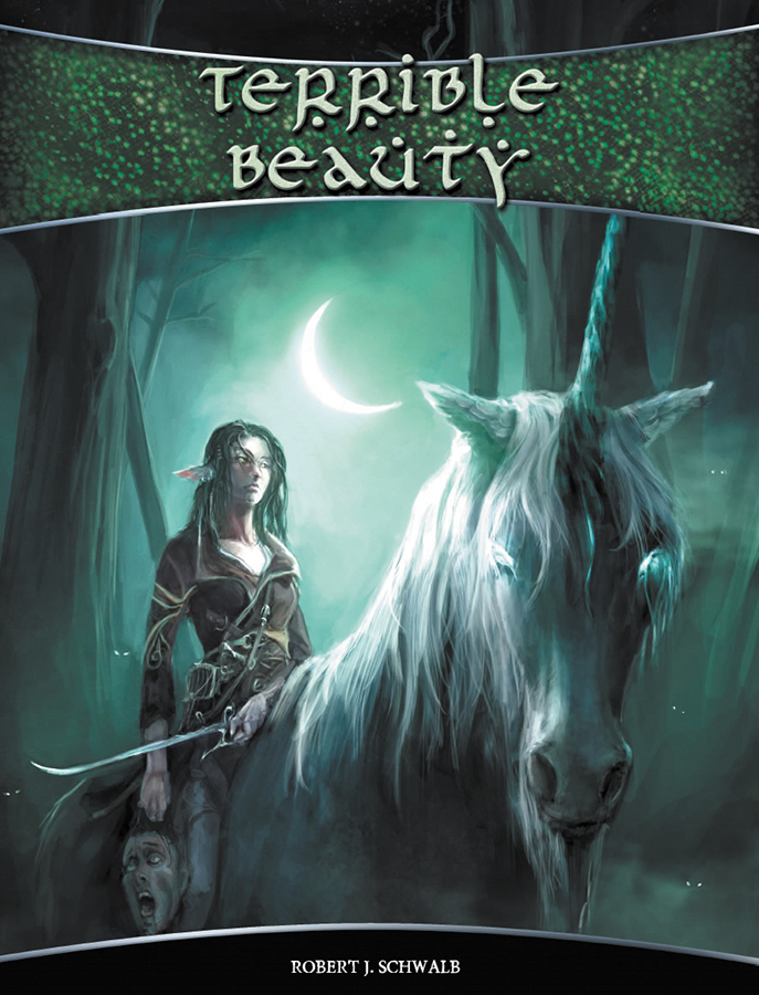 Shadow Of The Demon Lord Rpg: Terrible Beauty Box Front