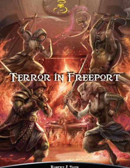 Shadow Of The Demon Lord Rpg: Terror In Freeport Box Front