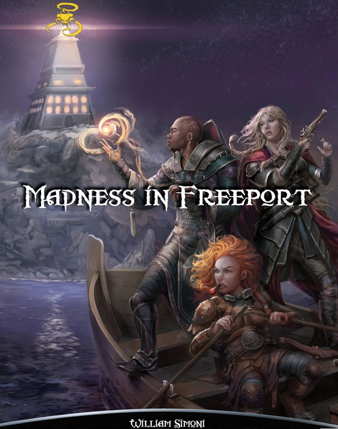 Shadow Of The Demon Lord Rpg: Madness In Freeport Box Front