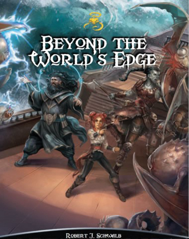 Shadow Of The Demon Lord Rpg: Beyond The Worlds Edge Box Front