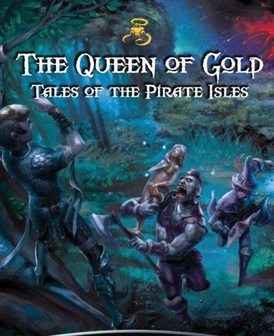 Queen Of Gold Rpg: Tales Of The Pirate Isles Box Front