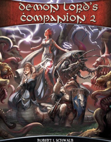 Shadow Of The Demon Lord Rpg: Demon Lords Companion 2 Box Front