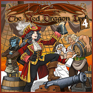 Red Dragon Inn 4 (stand Alone And Expansion) Box Front