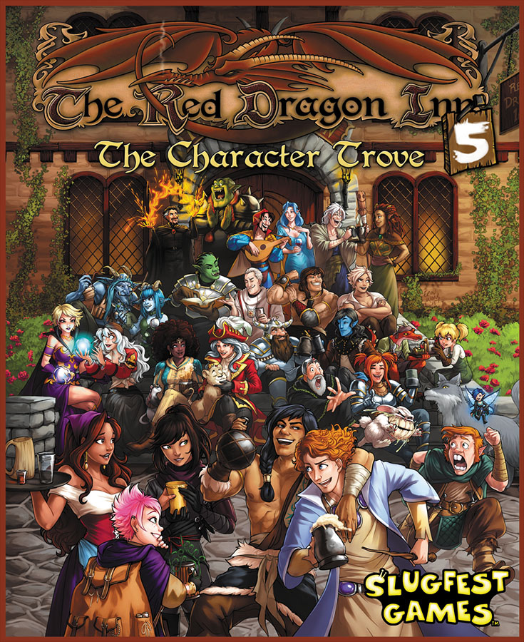 Red Dragon Inn 5: The Character Trove Expansion Box Front
