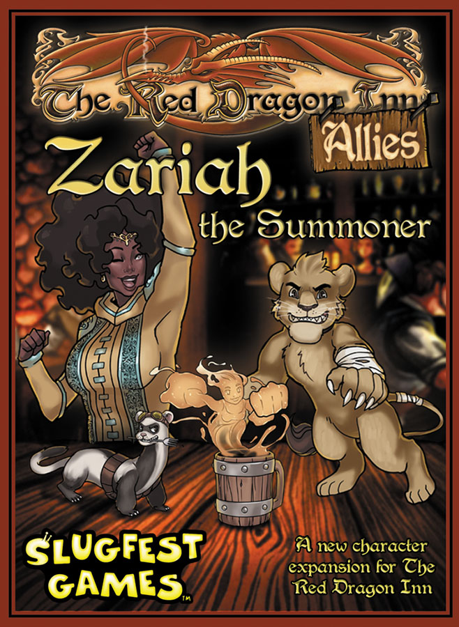 Red Dragon Inn: Allies - Zariah The Summoner Expansion Box Front