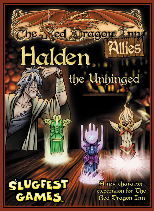 Red Dragon Inn: Allies - Halden The Unhinged Expansion Box Front
