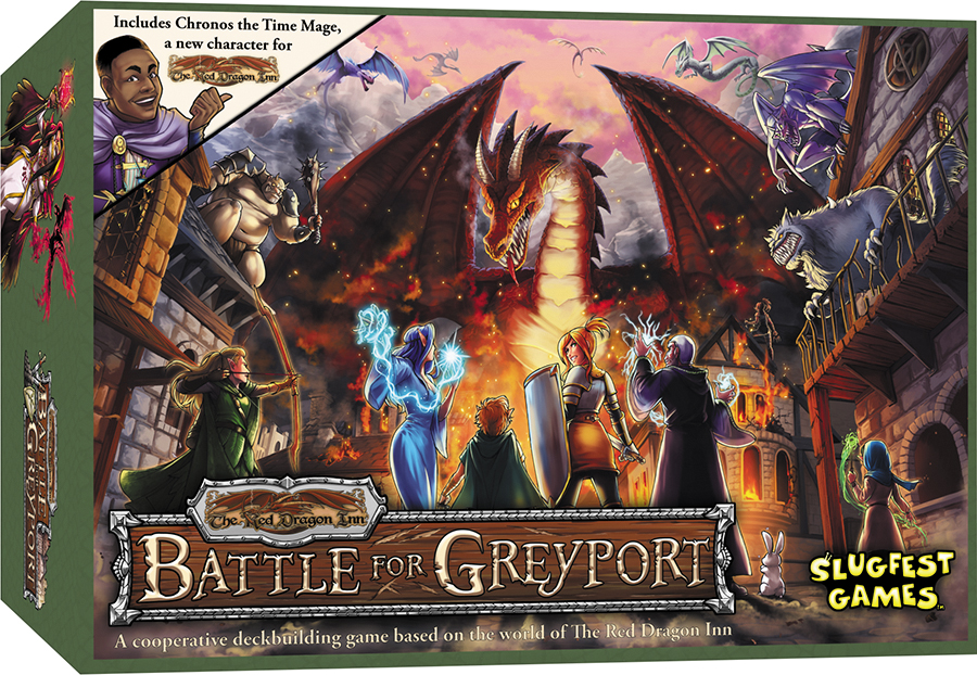 Red Dragon Inn: Battle For Greyport Box Front