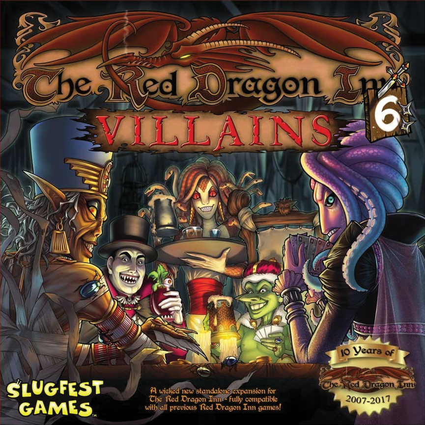 Red Dragon Inn 6: Villains (stand Alone And Expansion) Box Front
