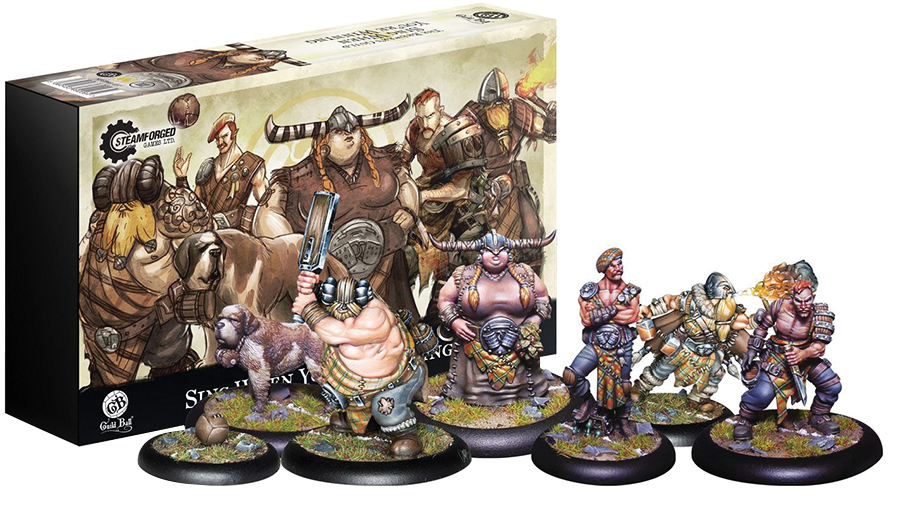 Guild Ball Brewer`s Guild Sing When You`re Winning Box Front